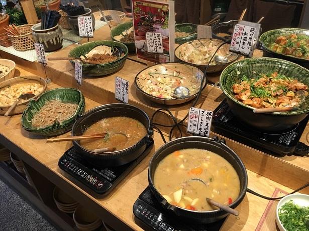 【京都で安いおばんざいランチバイキング店!】都野菜 ・賀茂