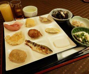 【人吉温泉・清流山水花あゆの里】地産地消の食材を使った朝食バイキング
