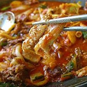 ikko,韓国,オススメ,グルメ,うどん,キンパ,ホルモン鍋