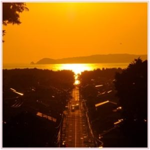 嵐,jal,cm,ロケ地,福岡,宮地獄神社,光の道
